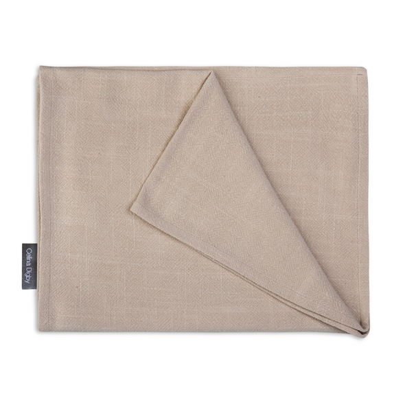 Celina Digby Luxury Stonewashed 100% Linen Table Runner - Available in 3 Sizes - Stone (Beige)