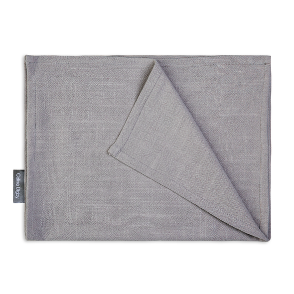 Celina Digby Luxury Stonewashed 100% Linen Table Runner - Available in 3 Sizes - Light Grey