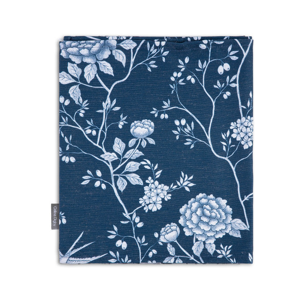 Celina Digby Luxury Eco-Friendly Recycled Fabric Table Runner - Cecylia Navy - Available in 3 Sizes