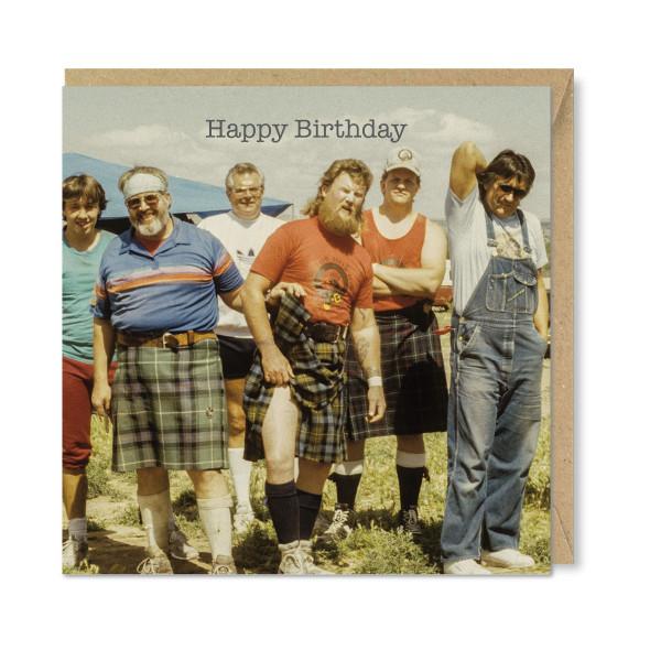 Celina Digby x Honovi Cards - Unique Funny Nostalgic Greeting Card - The Lads