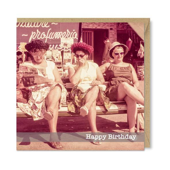 Celina Digby x Honovi Cards - Unique Funny Nostalgic Greeting Card - Glamour Girls