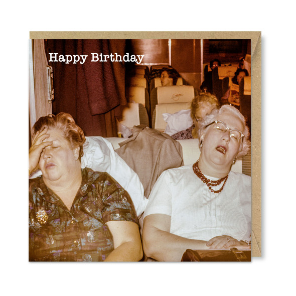 Celina Digby x Honovi Cards - Unique Funny Nostalgic Greeting Card - A Long Day