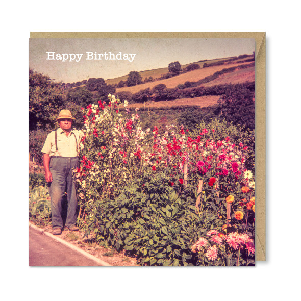 Celina Digby x Honovi Cards - Unique Funny Nostalgic Greeting Card - Proud Gardener