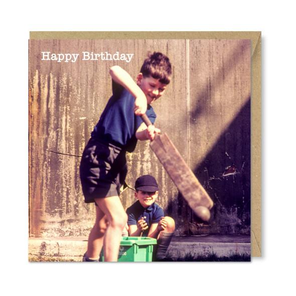 Celina Digby x Honovi Cards - Unique Funny Nostalgic Greeting Card - Striker