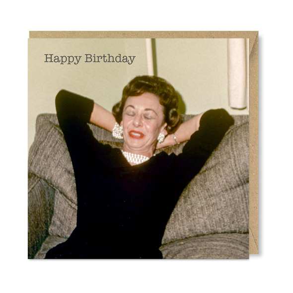 Celina Digby x Honovi Cards - Unique Funny Nostalgic Greeting Card - Plenty of Pearls