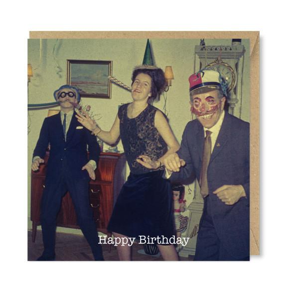 Celina Digby x Honovi Cards - Unique Funny Nostalgic Greeting Card - Birthday Boogie