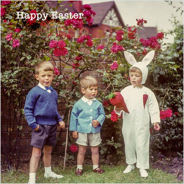 Celina Digby x Honovi Cards - Unique Funny Nostalgic Greeting Card - Easter Bunny