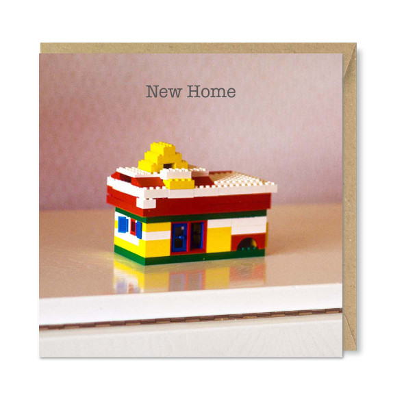 Celina Digby x Honovi Cards - Unique Funny Nostalgic Greeting Card - Lego House