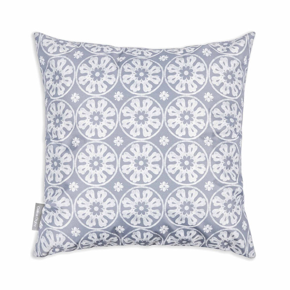 Water Resistant Garden Cushion - Casablanca Grey