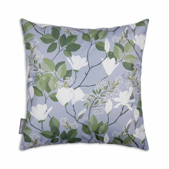 Water Resistant Garden Cushion - Magnolia Grey