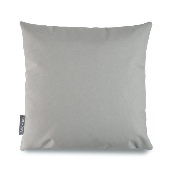 Resistant Garden Cushion -  Light Grey - to Compliment Patterned Cushions
