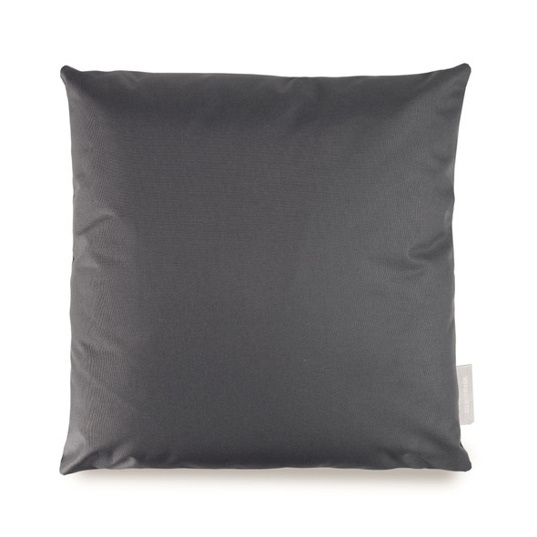 Water Resistant Garden Cushion - Dark Grey - to Compliment Patterned Cushions