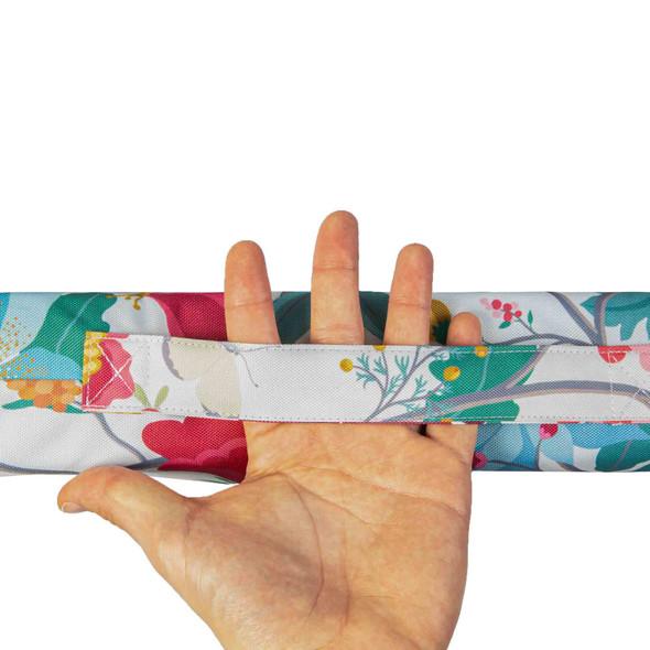 Luxury Garden Kneeler / Kneeling Pad With Handle - Midsummer Morning