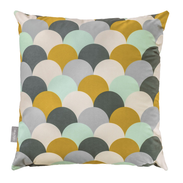 Opulent Velvet Cushion - Scandi Hills Mustard
