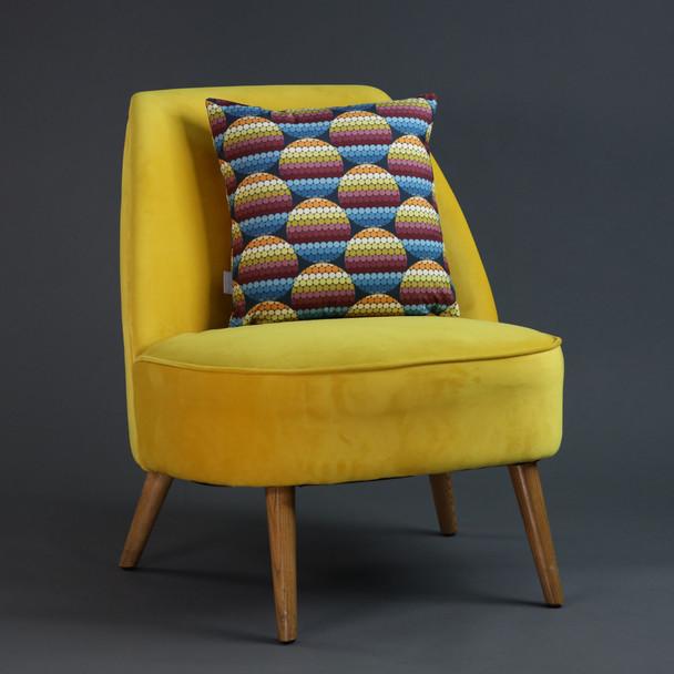 Opulent Velvet Cushion - Pixel Disks
