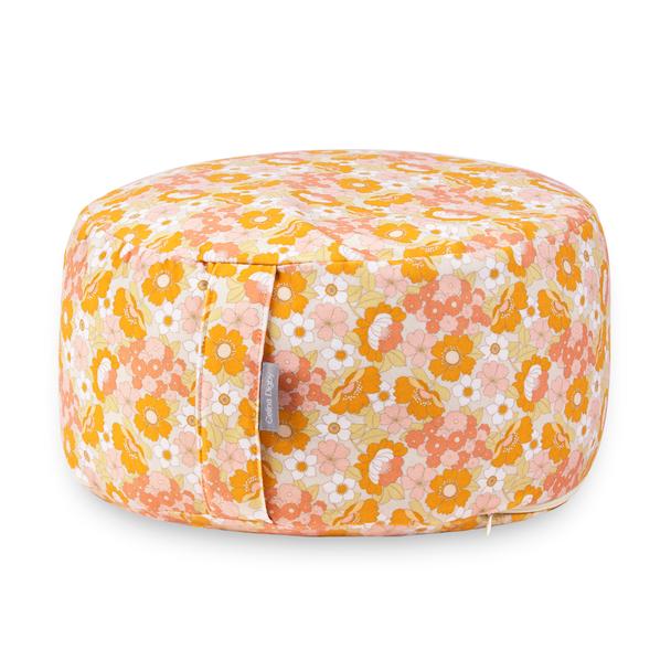 Zafu Round / Wheel Cushion - Flower Power
