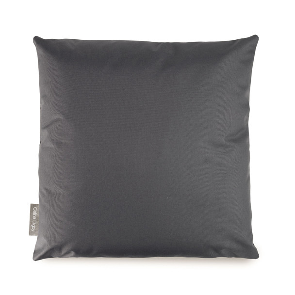 Resistant Garden Cushion - Dark Grey - to Compliment Patterned Cushions