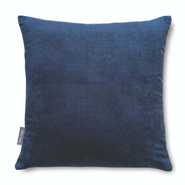Opulent Super Soft Velvet Cushion - Midnight Blue - Available in 2 Sizes