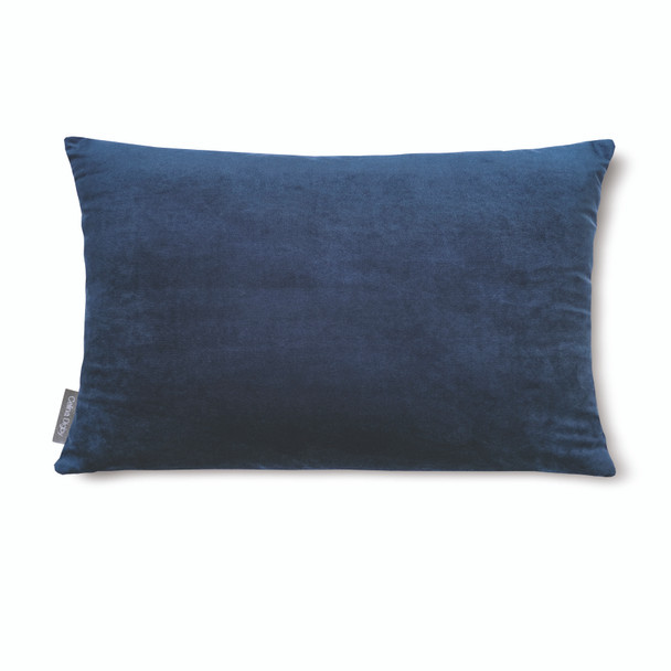 "Opulent Super Soft Velvet Cushion - Midnight Blue - Rectangular 51cm x 30cm (20"" x 12"") Size"
