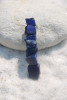 Tumbled Lapis Lazuli Stone French Barrette Hair Clip - 60 MM - Made to Order