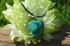 Green Malachite Stone Necklace