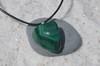 Tumbled Malachite Stone Necklace
