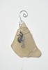 Sea Horse Sea Glass Ornament
