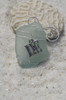 Love Sea Glass Ornament