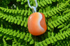 Tumbled Apricot Agate Stone Necklace