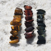Tiger's Eye French Barrettes