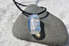 Wire Wrapped Tumbled Opalite Stone Necklace