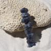 Iolite Stone Hair Clip