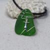 Dagger Sea Glass Pendant