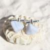 Blue Lace Agate Cufflinks