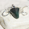 Green Moss Agate Necklace