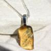 Lionskin Stone Pendant