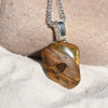 Lionskin Stone Necklace