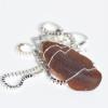 Brown Sea Glass Pendant