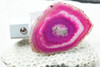Pink Sliced Agate Night Light