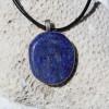 Lapis Lazuli Palm Stone Necklace