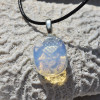 Opalite Palm Stone Necklace
