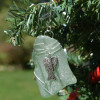 Wire Wrapped Angel Christmas Ornament