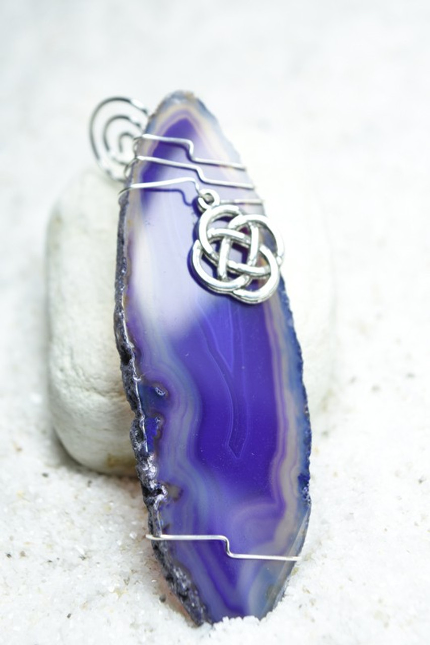 Wire Wrapped Celtic Knot Ornament