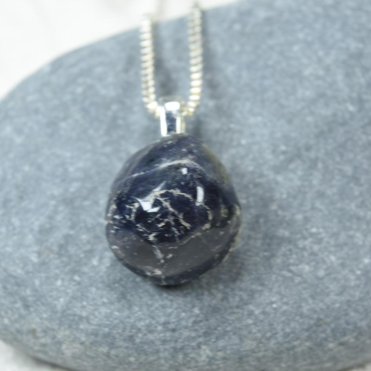 Iolite Stone Necklace