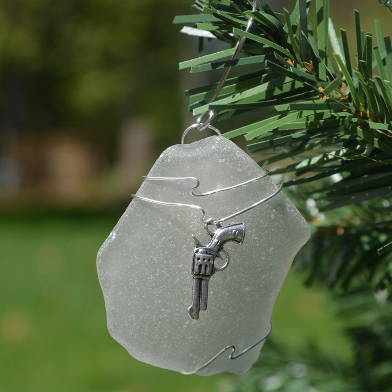 Gun Christmas Ornament
