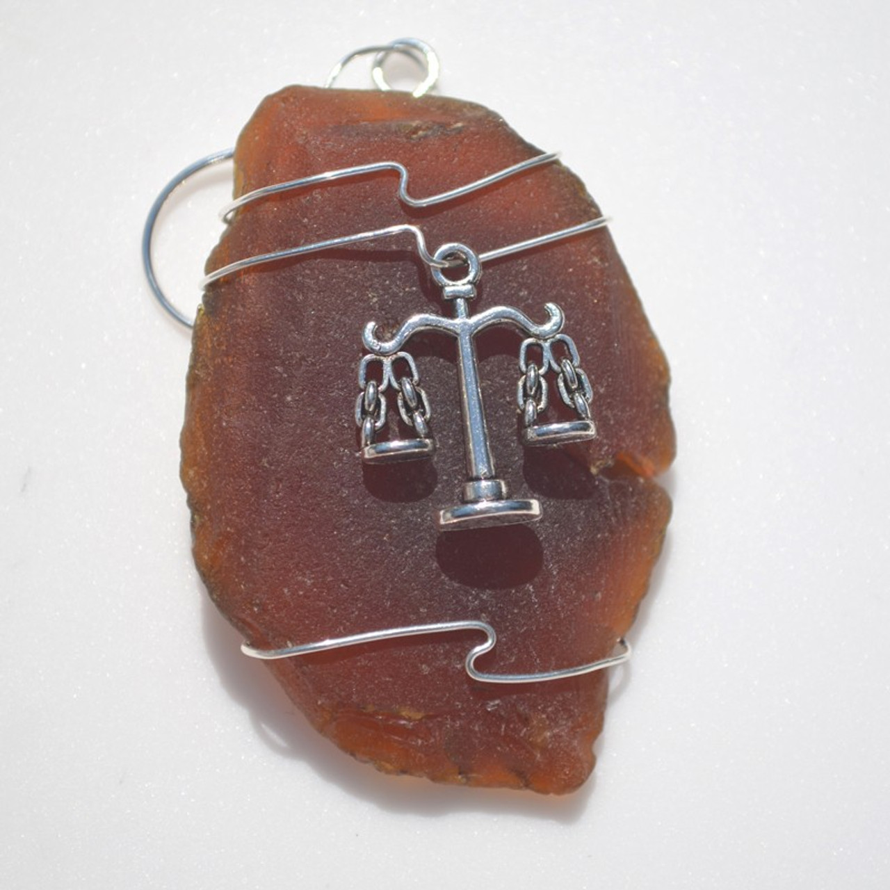 Legal Scales Christmas Ornament
