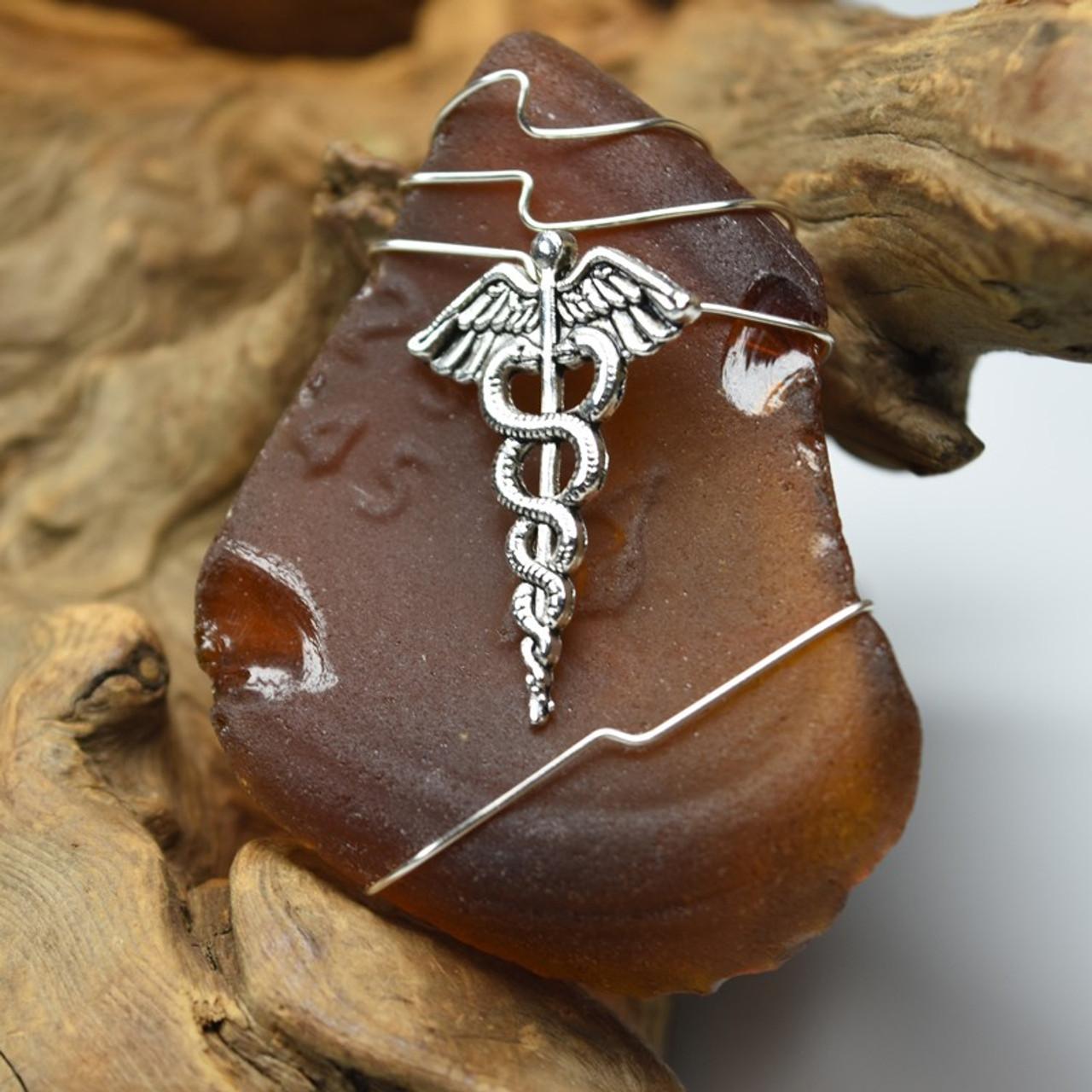 Caduceus Christmas Ornament