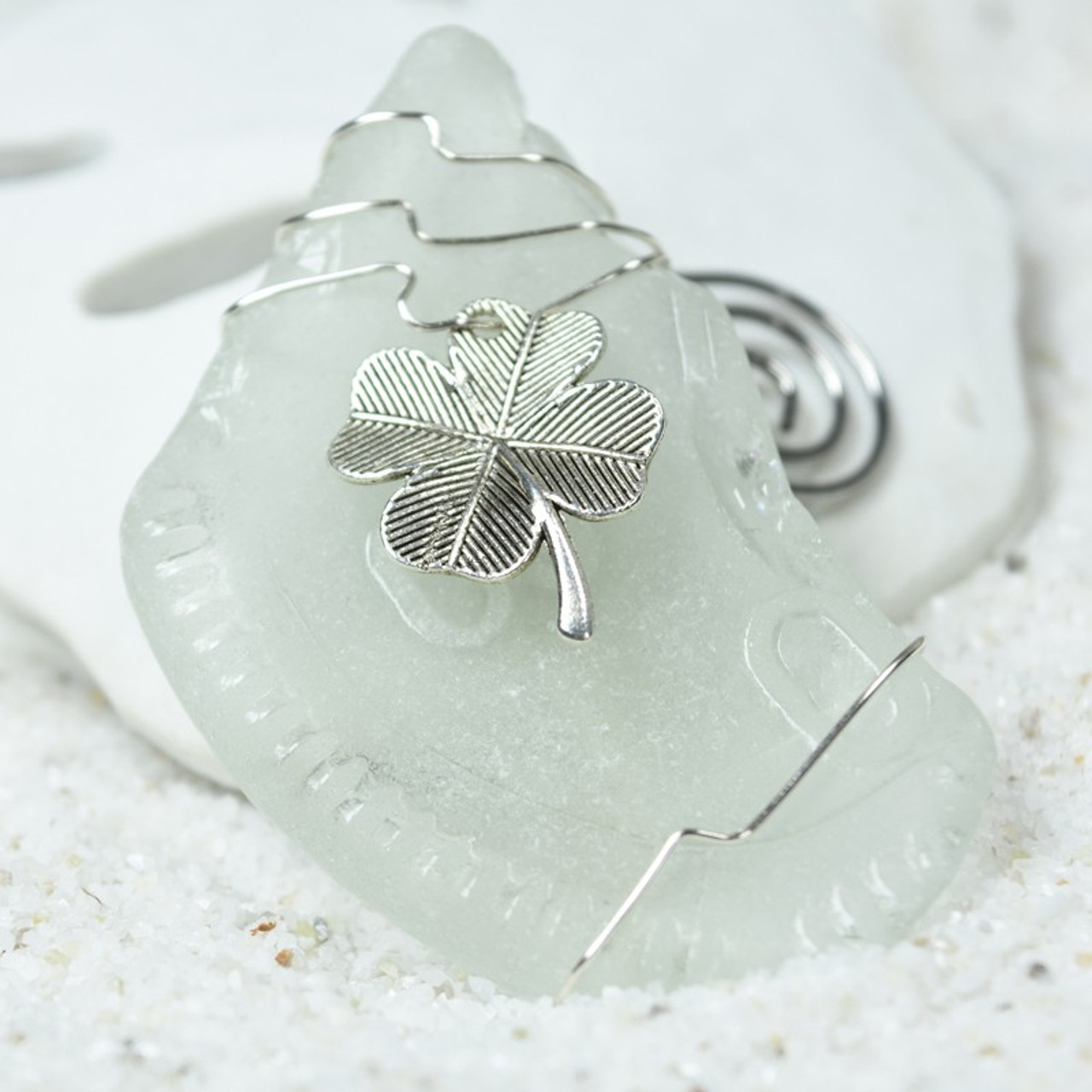 Irish Clover Christmas Ornament