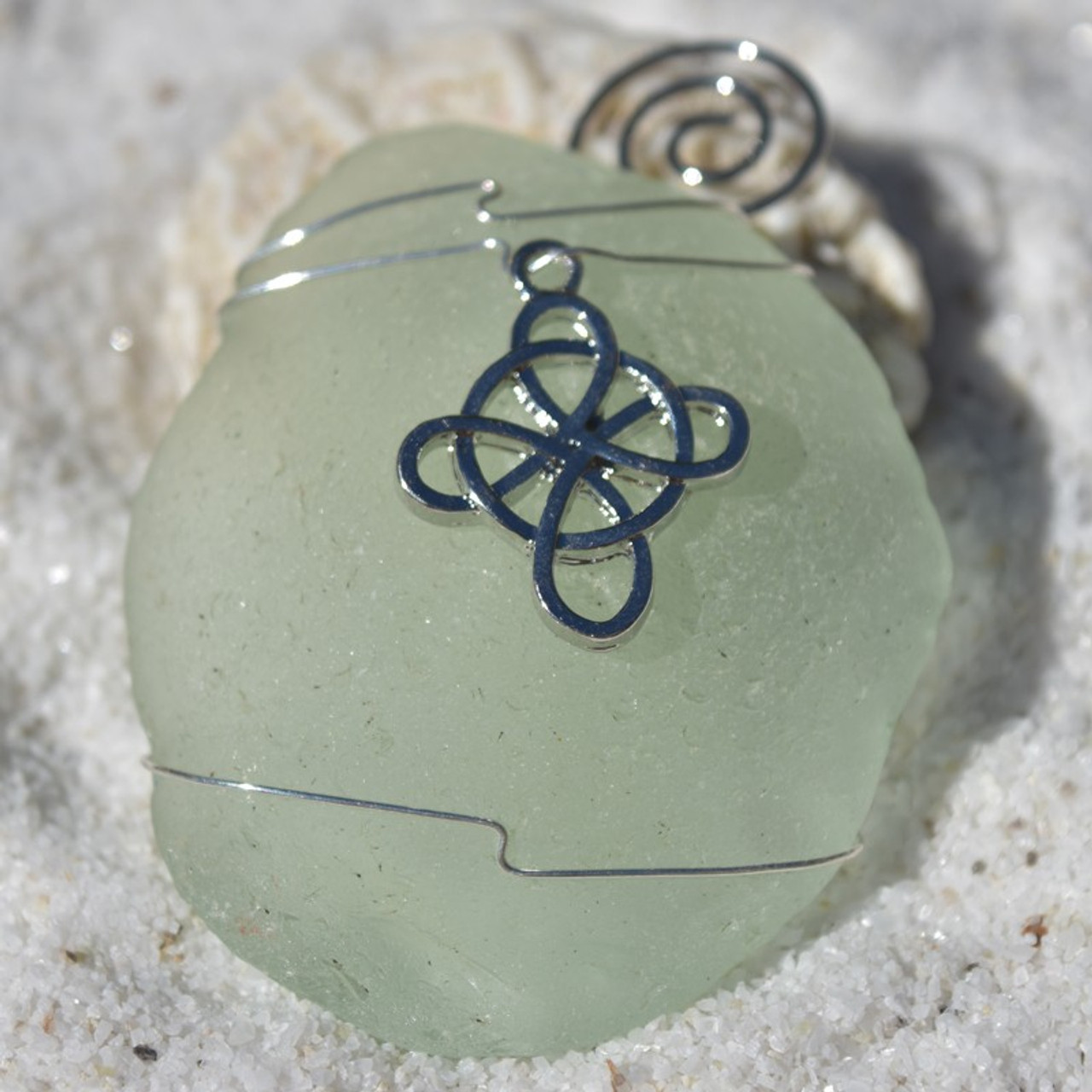 Celtic Knot Cross Ornament