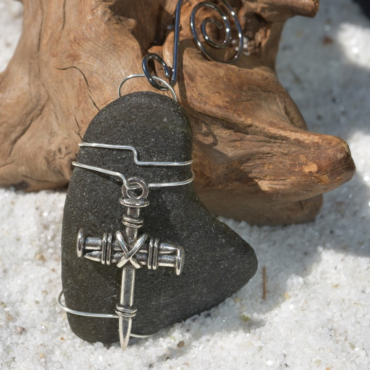Nail Cross Ornament